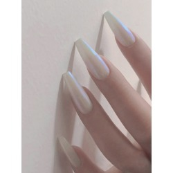 Opal Press-On Nails Set - 24pcs found on Bargain Bro from SHEIN for USD $4.10