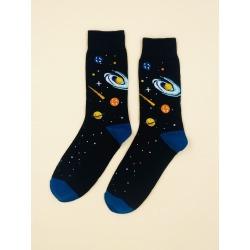 Planet Pattern Socks