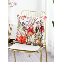 Floral Print Cushion Cover found on Bargain Bro from Sheinside for USD $5.32
