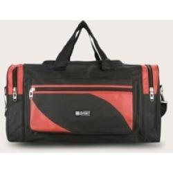 Men Colorblock Travel Bag