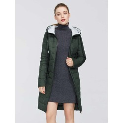 Colorblock Quilted Winter Coat found on Bargain Bro Philippines from SHEIN for $69.15
