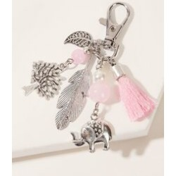 Elephant & Tree Charm Keychain found on Bargain Bro Philippines from Sheinside for $3.00