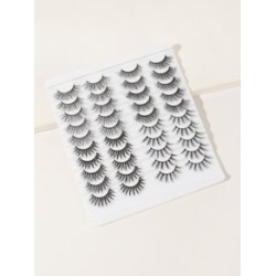 3D False Eyelashes - 20 Pairs found on MODAPINS from Sheinside for USD $7.00
