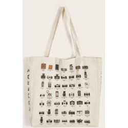 Camera & Letter Graphic Book Bag found on Bargain Bro India from Sheinside for $9.00