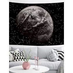 Planet Print Tapestry