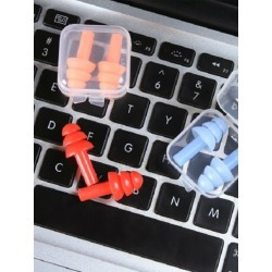 Random Color Earplug 2pcs found on Bargain Bro from SHEIN for USD $2.32