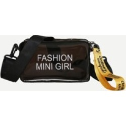Guitar Strap Clear Camera Bag