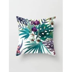 Palm Print Cushion Cover found on Bargain Bro from Sheinside for USD $3.04