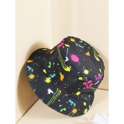 Ink Dot Pattern Reversible Bucket Hat found on MODAPINS from SHEIN for USD $6.84
