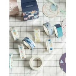 1roll Boxed Cartoon Graphic Masking Tape