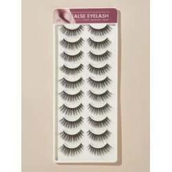 10pairs Thick False Eyelashes found on MODAPINS from Sheinside for USD $5.00
