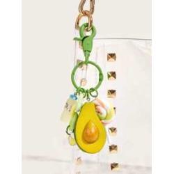 Avocado Decor Key Chain