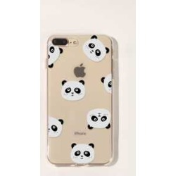 Panda Pattern iPhone Case