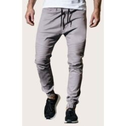 Men Drawstring Waist Solid Pants found on Bargain Bro India from Sheinside for $24.00