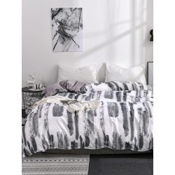 Ink Painting Painting Duvet Cover Without Filler found on MODAPINS from SHEIN for USD $19.84