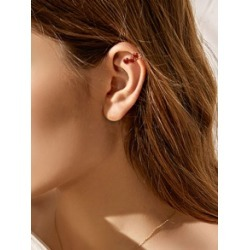 1pc Heart Decor Ear Cuff found on Bargain Bro India from Sheinside for $2.00