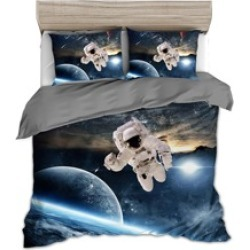 Astronaut Print Bedding Sets Without Filler