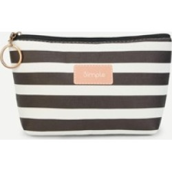 Striped Zipper Makeup Bag found on Bargain Bro Philippines from Sheinside for $3.00