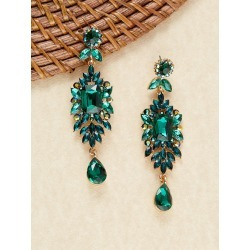Fancy Rhinestone Cluster Stud Back Earrings found on Bargain Bro India from SHEIN for $8.51