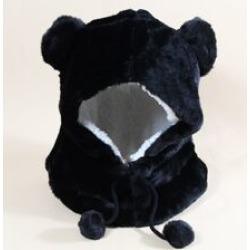 Pom Pom Fluffy Hat