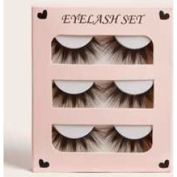 Natural Thick False Eyelashes 3pairs found on MODAPINS from Sheinside for USD $3.00