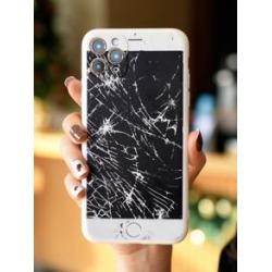 Mobile Phone Screen Design iPhone Case