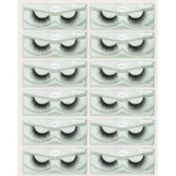 12pairs Volume Curly False Eyelashes found on MODAPINS from Sheinside for USD $9.00