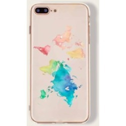 Colorful Map iPhone Case
