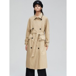 Double Button Belted Trench Coat found on Bargain Bro Philippines from SHEIN for $70.62