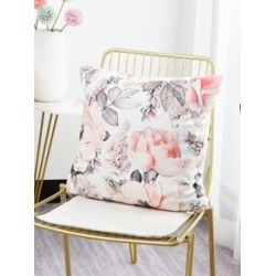 Flower Print Cushion Cover found on Bargain Bro from Sheinside for USD $1.90