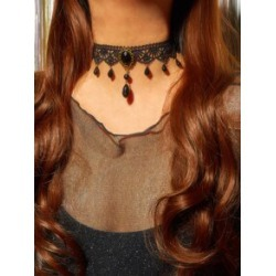 1pc Gemstone Decor Braided Choker found on Bargain Bro India from Sheinside for $2.00