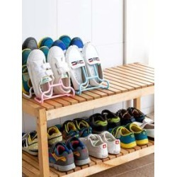 2pcs Multi-Function Shoes Drying Rack