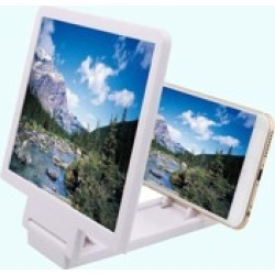 1pc Foldable 3D Mobile Phone Screen Magnifier
