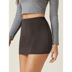 High Waist Bodycon Skirt found on Bargain Bro from SHEIN for USD $4.10