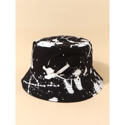 Ink Print Bucket Hat found on MODAPINS from SHEIN for USD $6.08