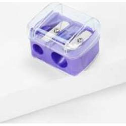 Random Color Cosmetic Eyebrow Pencil Sharpener 1pc