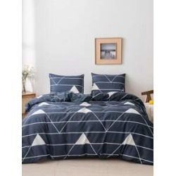 Geometric Pattern Bedding Sets Without Filler