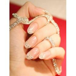 Glitter Fake Nails 24pcs