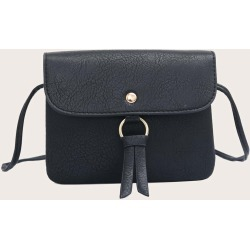 Knot Decor Flap Crossbody Bag found on Bargain Bro Philippines from SHEIN for $7.32