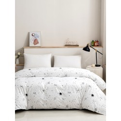Planet Print Duvet Cover Without Filler