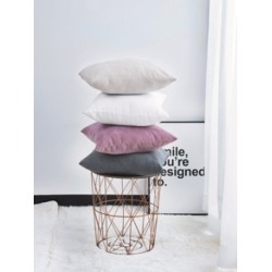 Solid Cushion Cover 1pc found on Bargain Bro from Sheinside for USD $3.80