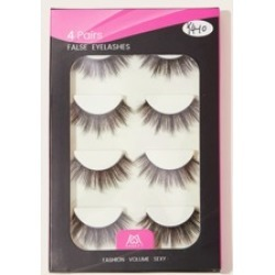 4pairs Natural False Eyelashes found on MODAPINS from Sheinside for USD $3.00