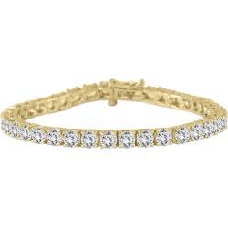 PREMIUM QUALITY 10 Carat TW Diamond Bracelet 18K Yellow Gold (E-F Color, SI1-SI2 Clarity) found on Bargain Bro Philippines from szul.com for $9999.00