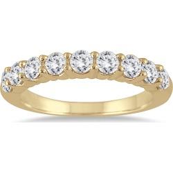 1 3/8 Carat TW Diamond Wedding Band in 14K Yellow Gold found on Bargain Bro from szul.com for USD $531.24