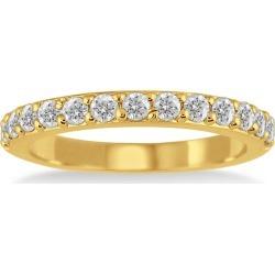 1/2 Carat TW Diamond Wedding Band in 10K Yellow Gold found on Bargain Bro from szul.com for USD $265.24