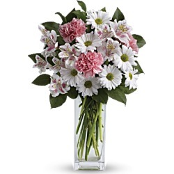 Spring Flowers - Sincerely Yours Bouquet By Teleflora - White - Flower Delivery