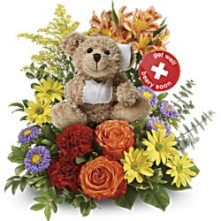 Get Well Flowers - Get Better Bouquet By Teleflora - Multi - Flower Delivery