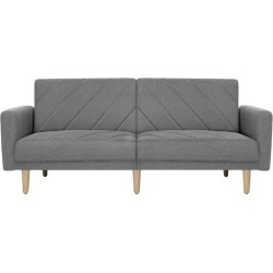 Viera Plush Sofa Bed Colour: Light Grey found on Bargain Bro Philippines from templeandwebster.com.au for $293.79