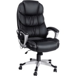 Black 8 Point Reclining Massage Chair found on Bargain Bro India from templeandwebster.com.au for $122.58