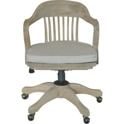 1940s Banker's Chair Weathered Oak found on Bargain Bro India from templeandwebster.com.au for $533.47